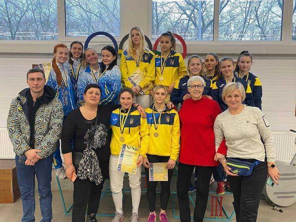 Чемпіонат України з фехтування на рапірах серед юніорів