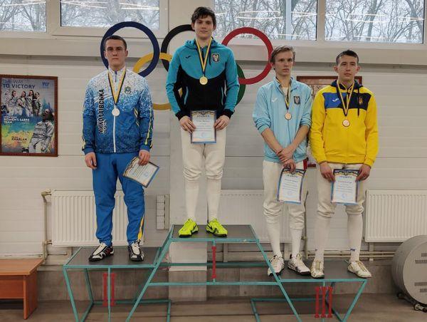 Чемпіонат України з фехтування на шаблях серед юніорів
