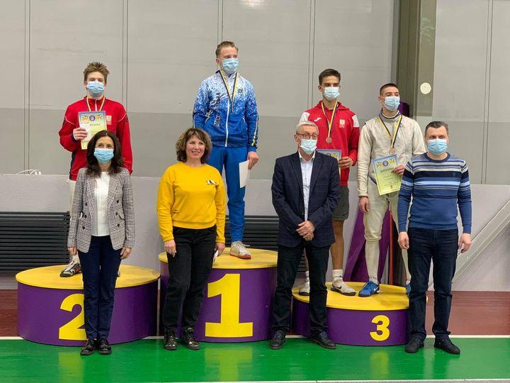 Чемпіонат України з фехтування на рапірах серед кадетів