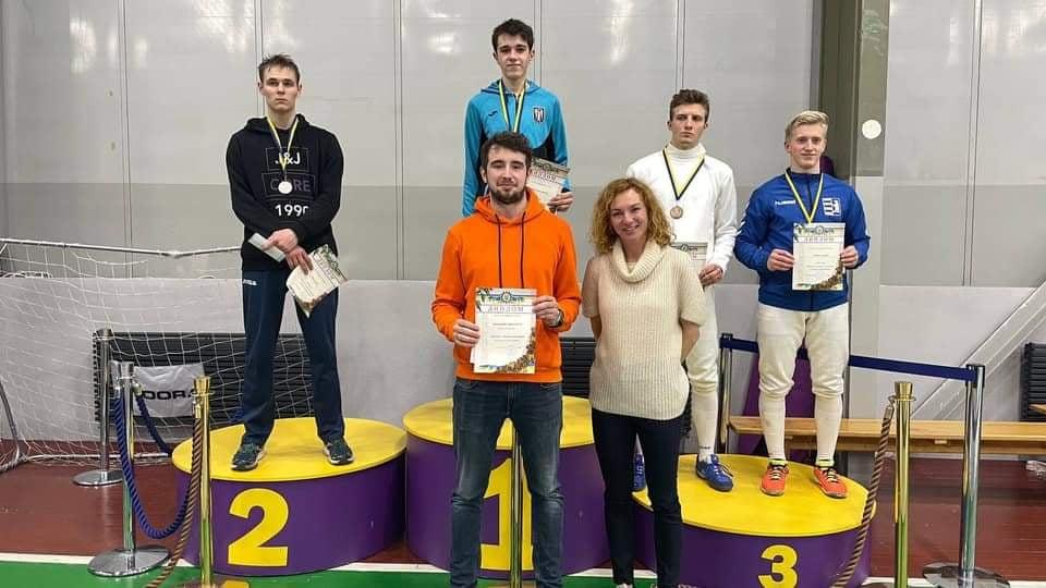 Чемпіонат України з фехтування на шпагах серед юніорів