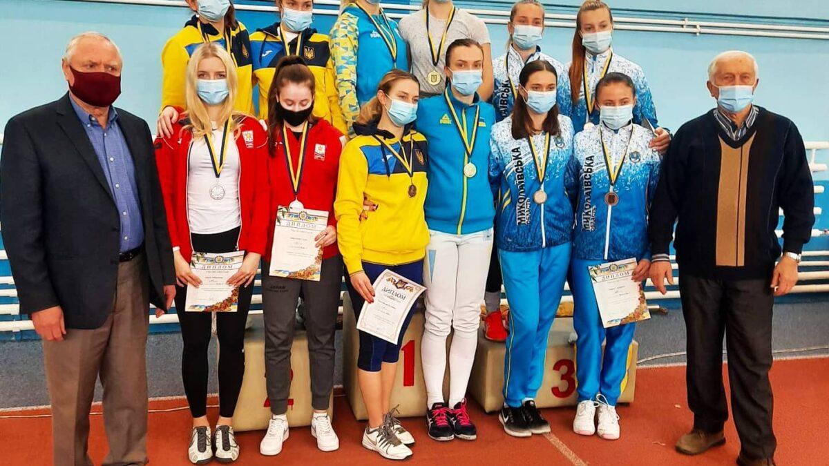Чемпіонат України з фехтування на рапірах серед дорослих