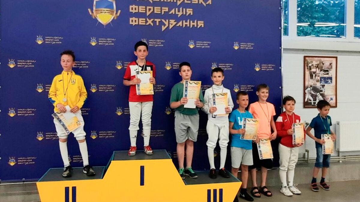 Всеукраїнська Ліга В. Миронюка з фехтування на рапірах