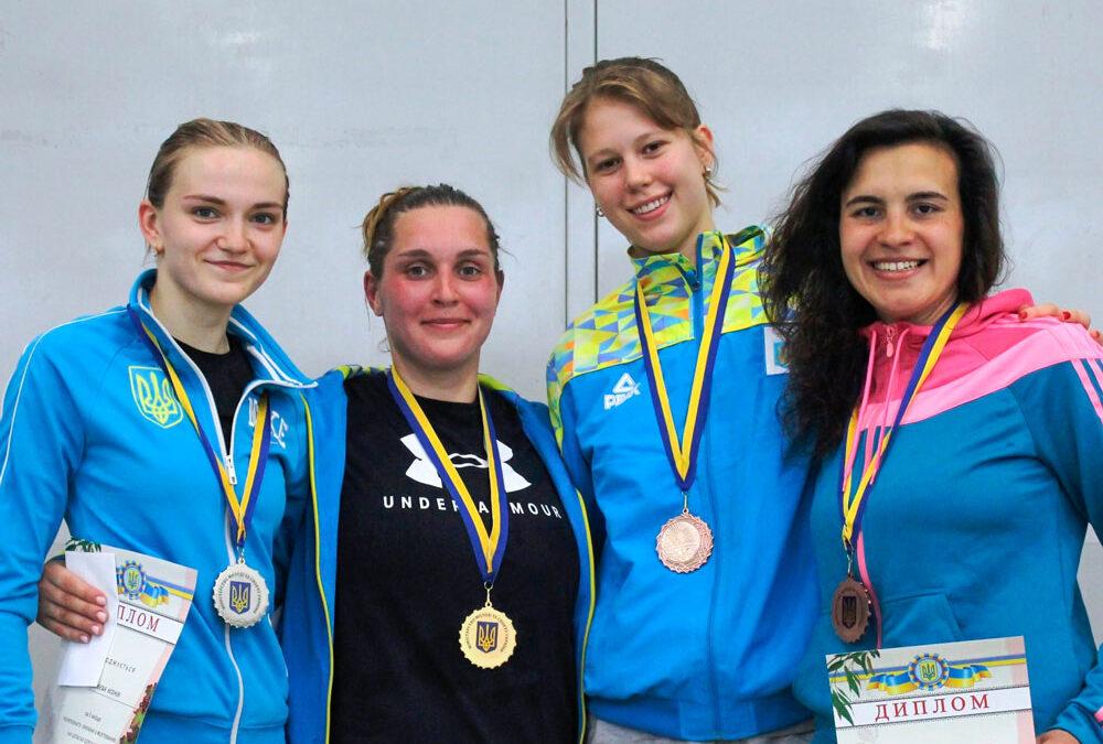 Катерина Чорній – бронзова призерка чемпіонату України!