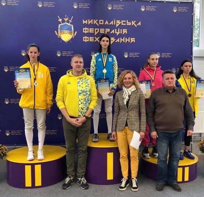 Чемпіонат України з фехтування на шпагах пам'яті В. Мурашова